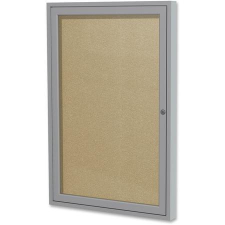 Outdoor Enclosed Aluminum Bulletin Board (Ghent Enclosed Outdoor Bulletin Board, 36