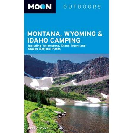 Idaho Map - Moon Montana, Wyoming & Idaho Camping