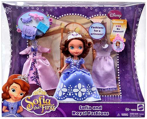 Sofia the First Princess Sofia Doll and Royal Fashions ...