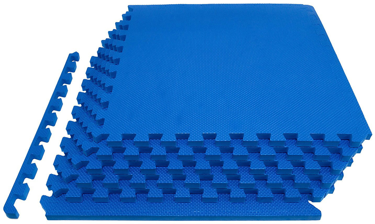 Puzzle Exercise Mat with High Quality EVA Foam Interlocking Tiles by BalanceFrom