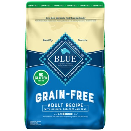 Blue Buffalo Life Protection Formula Grain Free Natural Adult Dry Dog Food, Chicken Recipe, 20-lb Blue Buffalo Adult Chicken