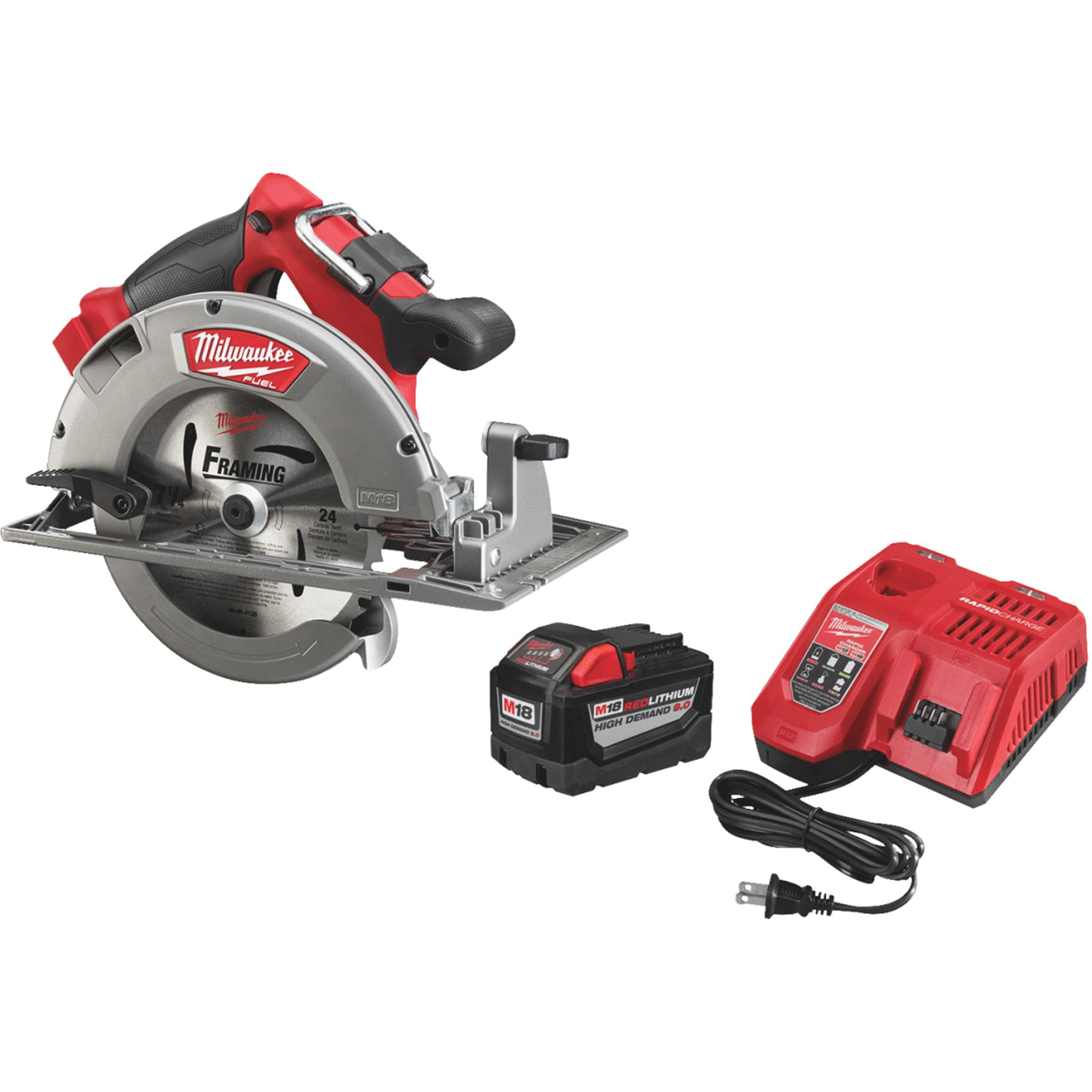 Milwaukee M18 FUEL Lithium-Ion Brushless HD Cordless Circular Saw Kit by Milwaukee