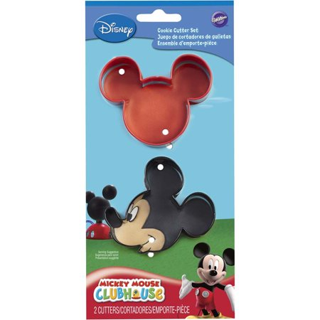 2308-4440, Wilton Disney Mickey Mouse Clubhouse Cookie Cutters, Set of 2](Mickey Mouse Cookie)