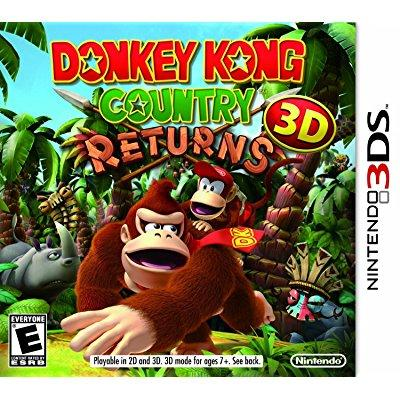 donkey kong country returns 3d (Donkey Kong Country Returns 3d Puzzle Pieces)