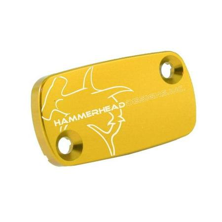 Hammerhead Designs 35-0101-00-50 Front Brake Master Cylinder Cover - Gold