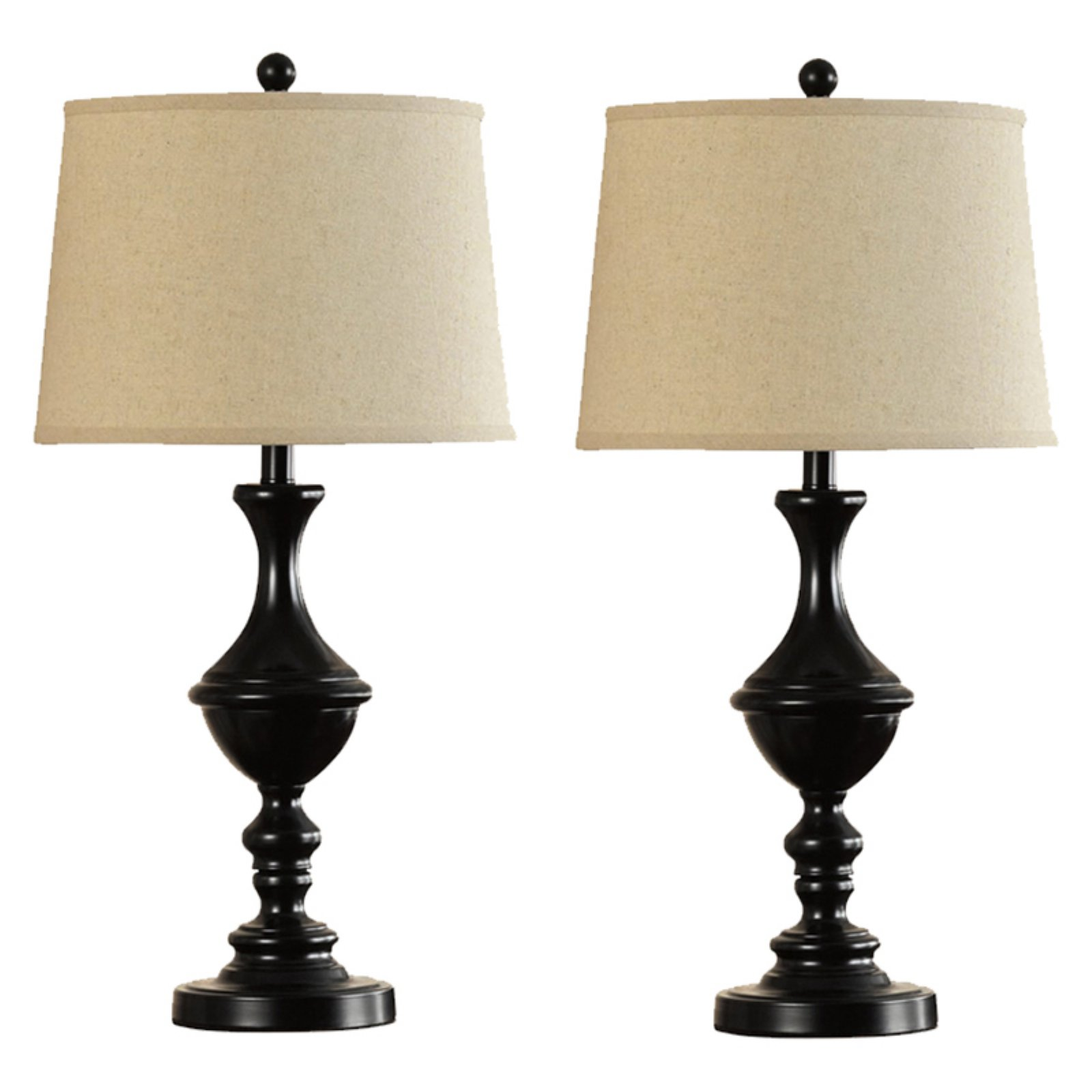 Catalina Lighting 28 Inch Oil Rubbed Bronze Metal Trophy Table Lamps   Set  Of 2