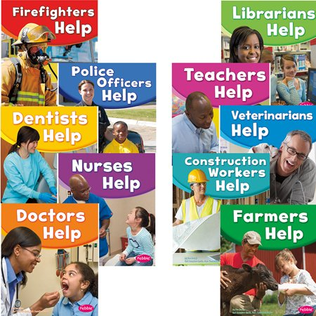 Our Community Helpers Set Of All 10 Titles (Community Helpers List From A To Z)