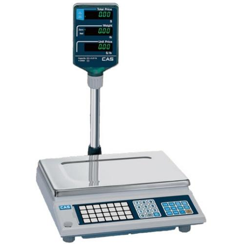 CAS AP-1-15 NTEP approved Price Computing Scale  15 lbs x 0 005 lbs