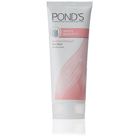 Pond's White Beauty Spot-less Firness Face Wash, (Ponds White Beauty Face Wash For Men)
