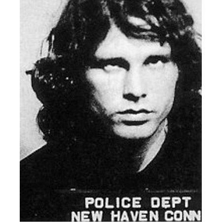 Laminated Poster Jim Morrison Mugshot Arrest The Doors Poster Print 24 x 36