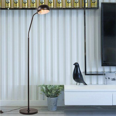 BEAD BEE Gooseneck Floor Lamp Eye LED Bedroom Living Room Study Bedside Fishing Lamp