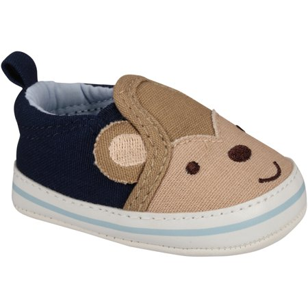 Child of Mine by Carter s - Newborn Baby Boy Slip-On Sneaker Shoes -  Walmart.com 24b33bdab8d