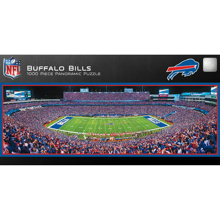 - MasterPieces Buffalo Bills 1000PC Panoramic Puzzle
