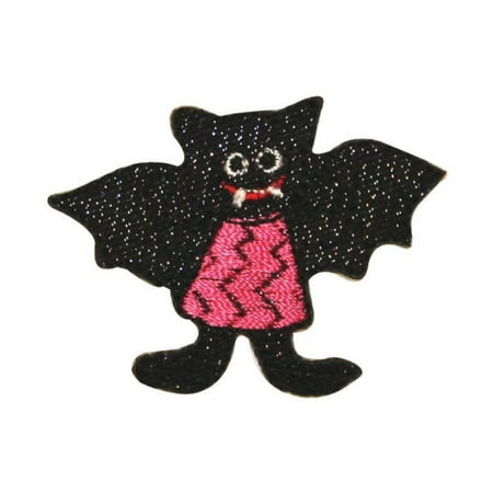 ID 0929 Vampire Bat Girl Patch Halloween Costume Embroidered Iron On - Halloween Store Kalamazoo