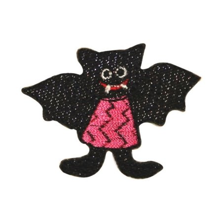 ID 0929 Vampire Bat Girl Patch Halloween Costume Embroidered Iron On Applique - Halloween Store Tulsa