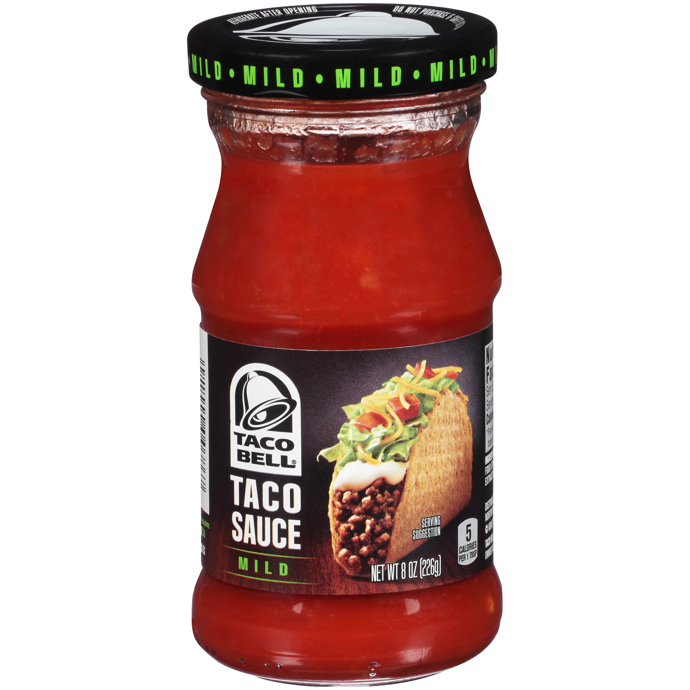 Taco Bell Mild Taco Sauce 8 oz. Jar