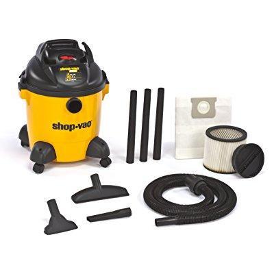 Pro Pump Vac (shop-vac 9650800 3.5-peak hp pro series wet or dry vacuum with detachable blower, 8-gallon)