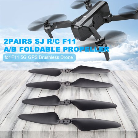 2Pairs SJ R/C F11 A/B Propeller Blade Foldable Propeller Props for F11 5G Wifi FPV GPS Brushless Drone - image 6 of 6