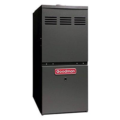 Goodmans 120 000 BTU 80% AFUE LoNox Upflow/Horizontal Gas Furnace GMH81205DX