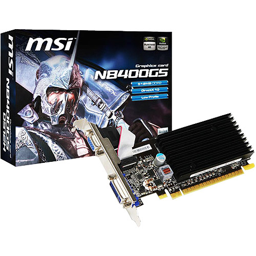 Msi N8400GS-D512H - Graphics card - GF 8400 GS - 512 MB G...