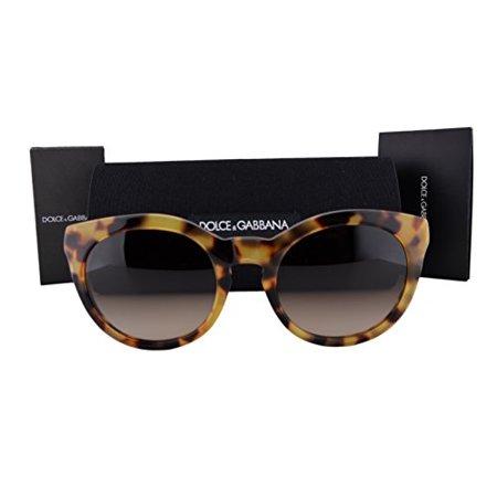 Dolce & Gabbana DG4279 Sunglasses Cube Havana w/Brown Gradient Lens 51213 DG 4279 For (Cebe Sun Glasses)