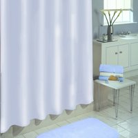 "Excell Medium weight Eco-Friendly 100 percent Peva Shower Curtain Liner, Anti Mildew, 70"" x 72"", White"