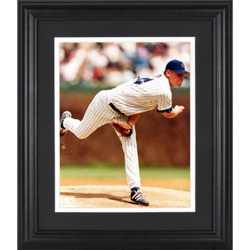 MLB - Kerry Wood Chicago Cubs Framed Unsigned 8x10 Photograph