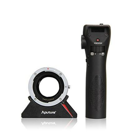 Aputure Dec Wireless Remote Adapter   Eos For Cine  Canon Eos Ef  Ef S Lens To Mft Mount Mirrorless Camera I E  E M10