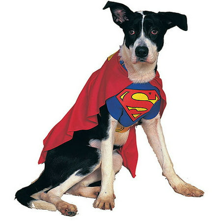 Superman Dog Pet Pet Costume - X-Large