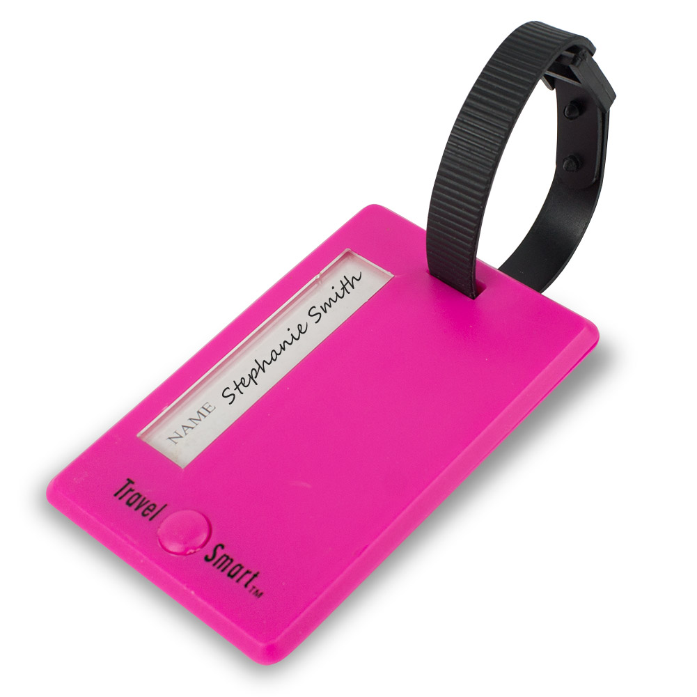 Travel Smart Swivel Luggage Identification Tag