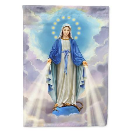 Religious Blessed Virgin Mother Mary Garden Flag ()