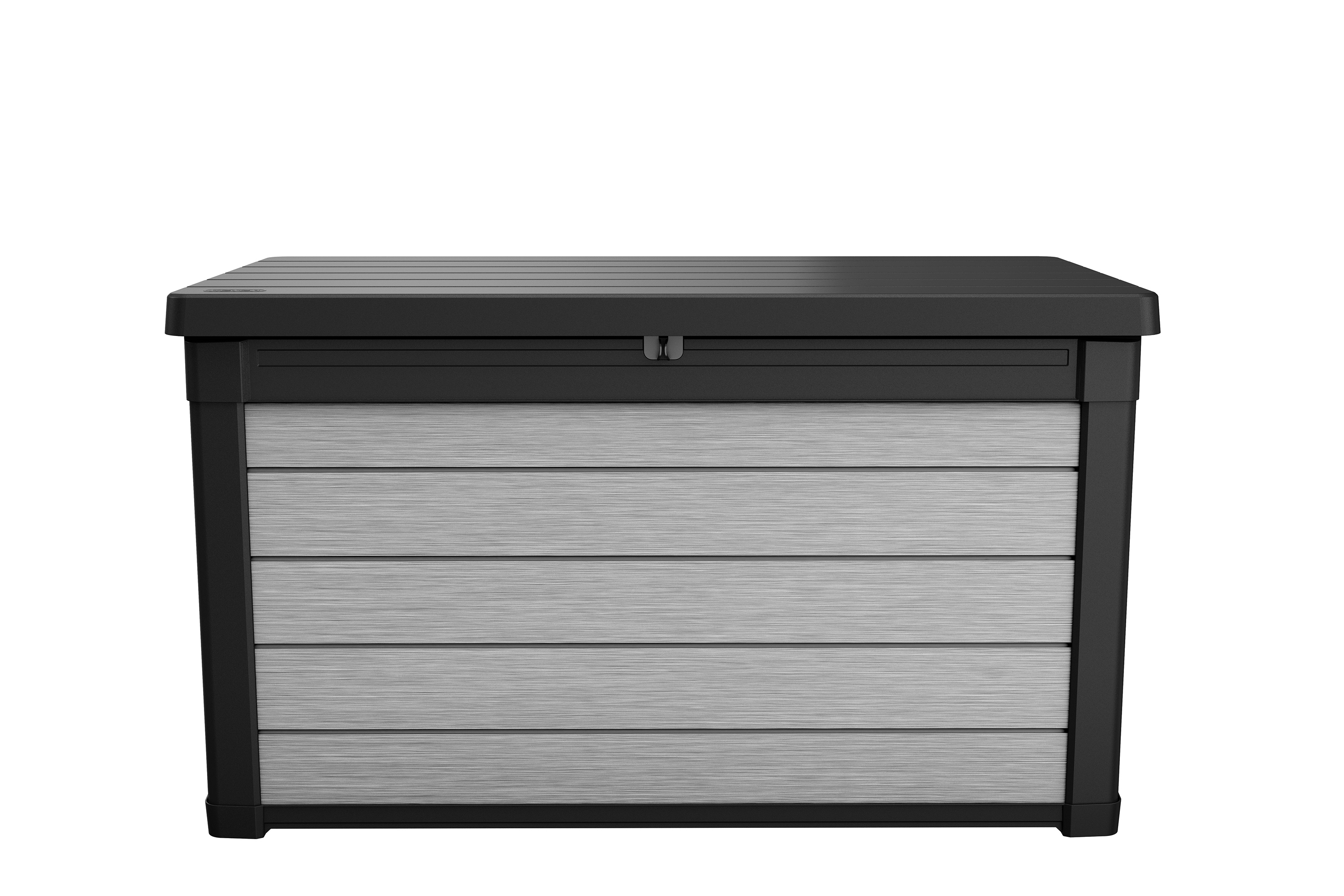 Keter Denali 100 Gallon Deck Box, Plastic Resin Outdoor Storage