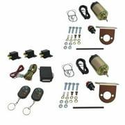 AutoLoc Power Accessories AUTSVPRO3 8 Function 35lbs Remote Shaved Door Popper Kit