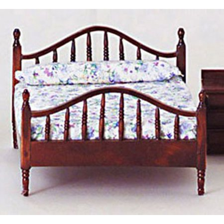 Dollhouse Double Bed, Mahogany
