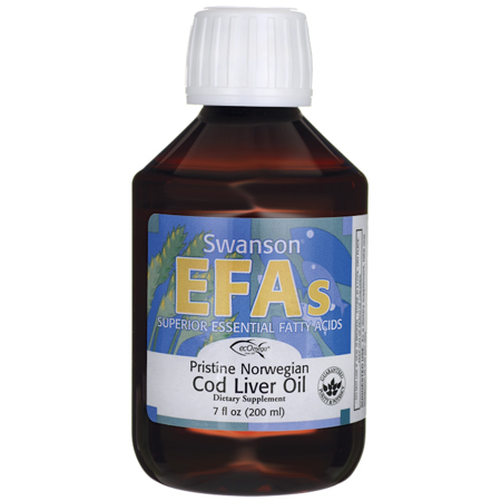 7 Ounce Liver - Swanson Pristine Norwegian Cod Liver Oil 7 fl oz (200 ml) Liquid