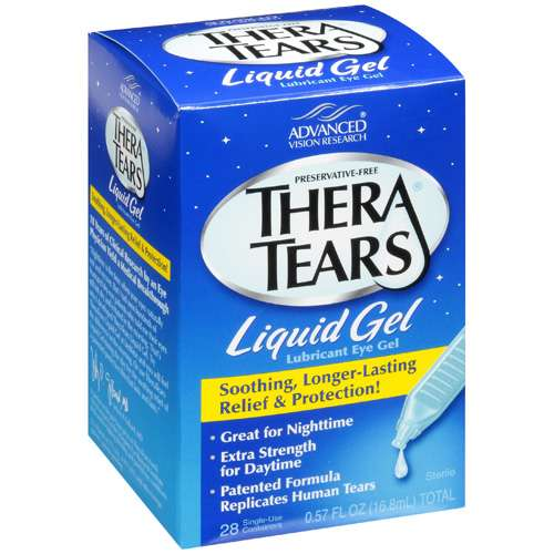 Thera Tears Liquid Gel Eye Drops, .57 fl oz