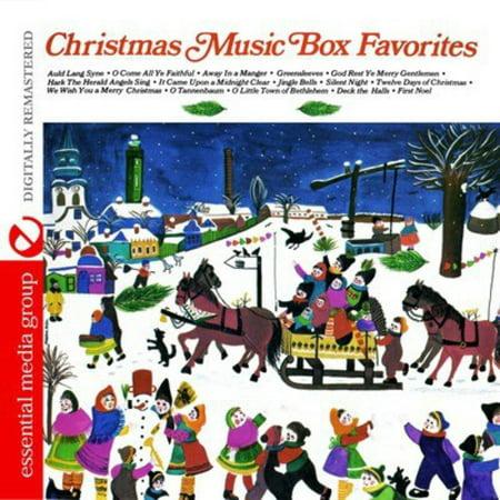 Christmas Music Box Favorites (CD)