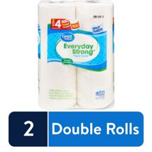 Paper Towels: Great Value Everyday Strong