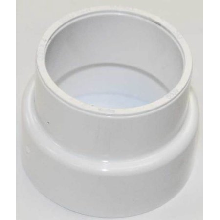"""Central Vac Fitting Coupling Reducer 2"""" To 40MM Pipe - 765530W"""