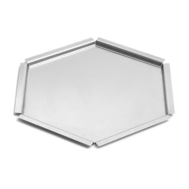 Rosseto Serving Solutions SM119 Tray Small Textured, Stainless Steel - image 1 of 1