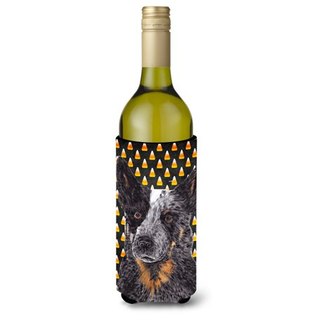 Australian Cattle Dog Candy Corn Halloween Portrait Ultra Beverage Insulators for slim cans SC9190MUK](Woolworths Australia Halloween)