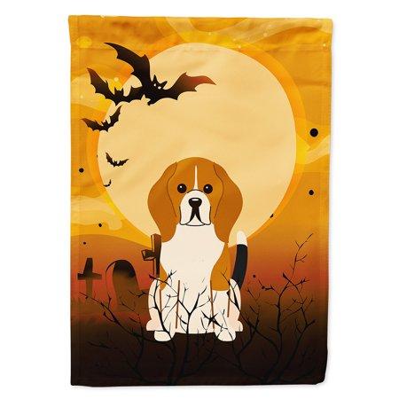 Halloween Beagle Tricolor Garden Flag](Halloween Beetle)