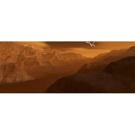 Venus Maxwell Montes are among the highest most precipitous mountain ranges in the solar system Poster Print (Solar Range)