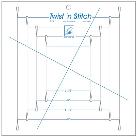 Twist 'n Stitch Ruler- - image 1 of 1