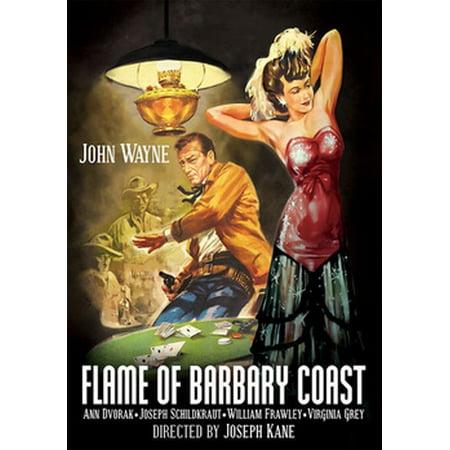 Flame Of Barbary Coast (DVD) - Le Film Halloween 2017