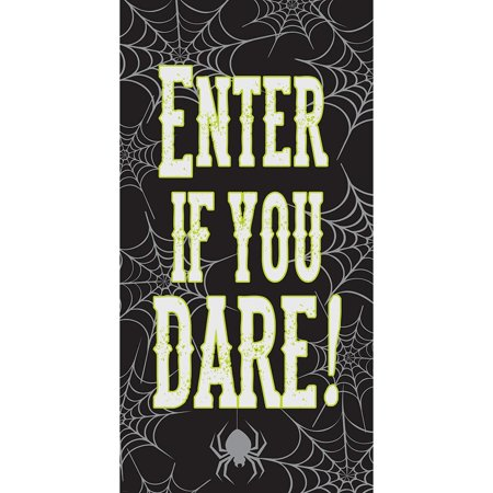 Halloween Door Decoration Ideas Dorm (Creative Converting Enter If You Dare Halloween Door)