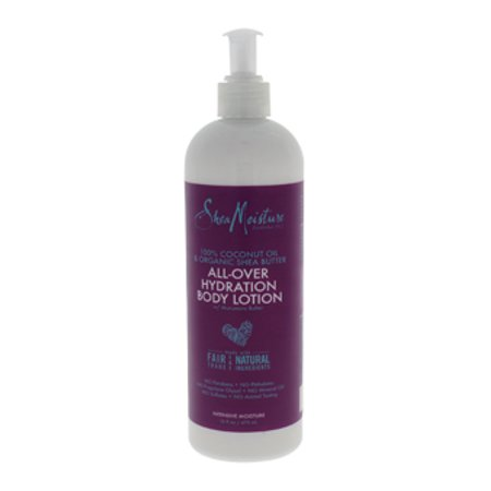 100% Coconut Oil & Organic Shea Butter All-Over Hydration Body Lotion by Shea Moisture for Unisex - 16 oz Body Lotion - image 3 of 3
