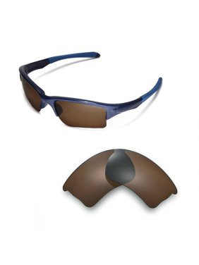 7338cff70c80 Product Image Walleva Ice Blue Polarized Replacement Lenses for Oakley  Quarter Jacket Sunglasses