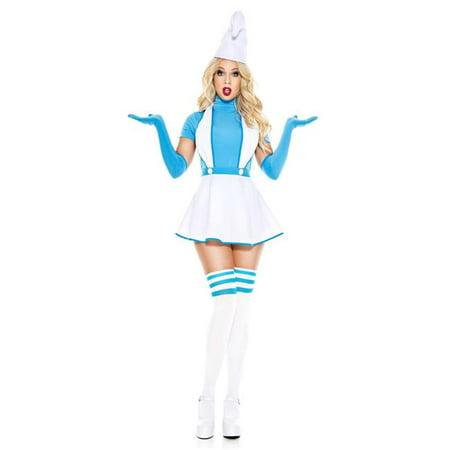 Music Legs 70887-XL 4 Piece Blue Buddy Costume, Extra Large
