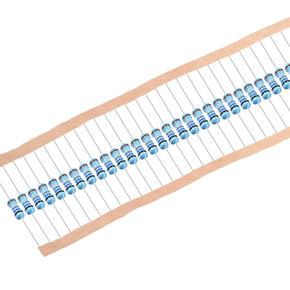 1/2W 0.68 Ohm Metal Film Resistors 0.5W 1% Tolerances 5 Color Bands 50 Pcs - image 4 of 4